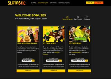 slotastic bonuses
