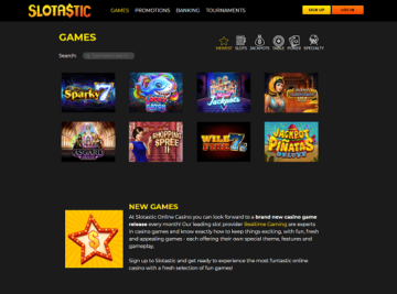 slotastic casino games