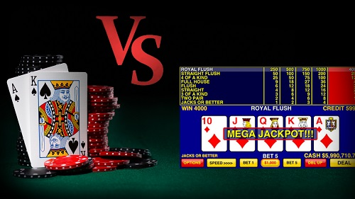 Video Poker Same as Poker