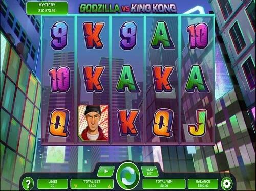 gossip slots game of the month godzilla vs king kong