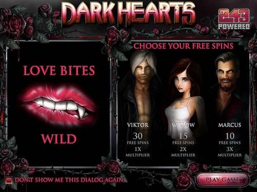 Dark Hearts Slot Review