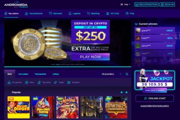 andromeda casino games