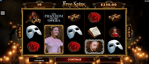 Phantom dari Slot Opera