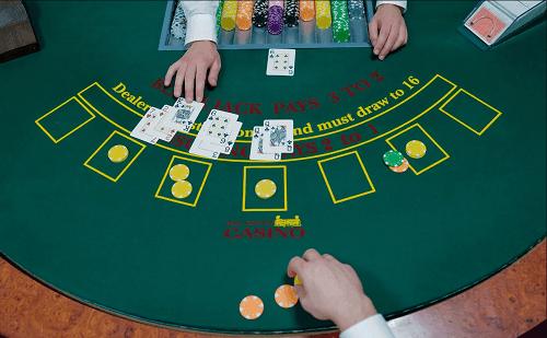 jumlah taruhan di blackjack