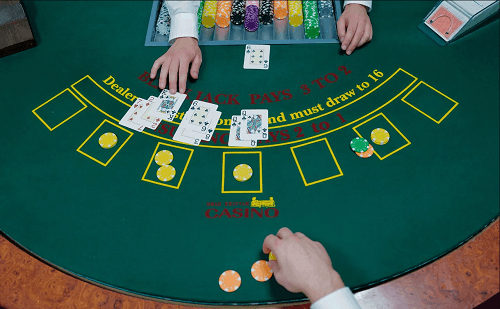 betting amount in blackjack