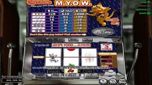 Play Operation M.Y.O.W. slot