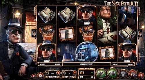 The Slotfather II Slot Reels