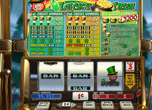 Lucky Irish Slot Rating