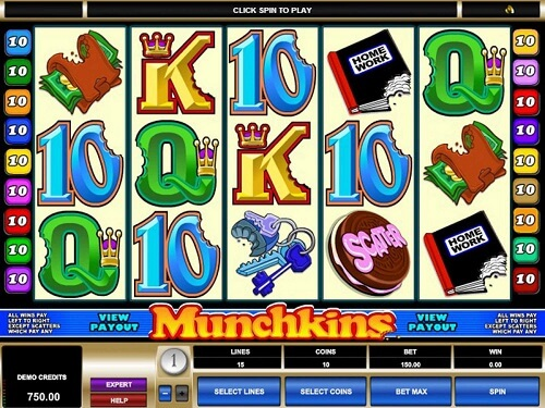 Munchkins Slot Reels