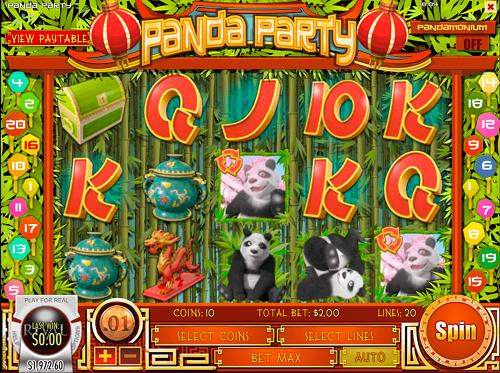 Panda Party Reels