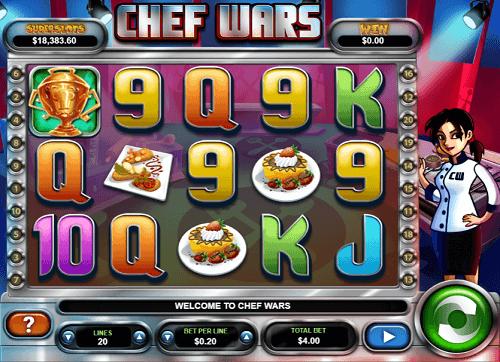 chef wars slot game
